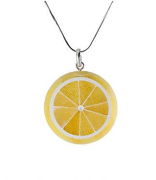 Pureosity Yellow Amber Lemon Pendant