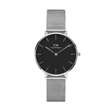 Daniel Wellington Ladies' Classic Petite Sterling Black