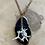 Thumbnail: Obsidian cat vertebrae necklace