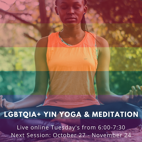 LGBTQIA+ Yoga & Meditation