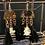 Thumbnail: Cat Verterbra Tassel Earrings
