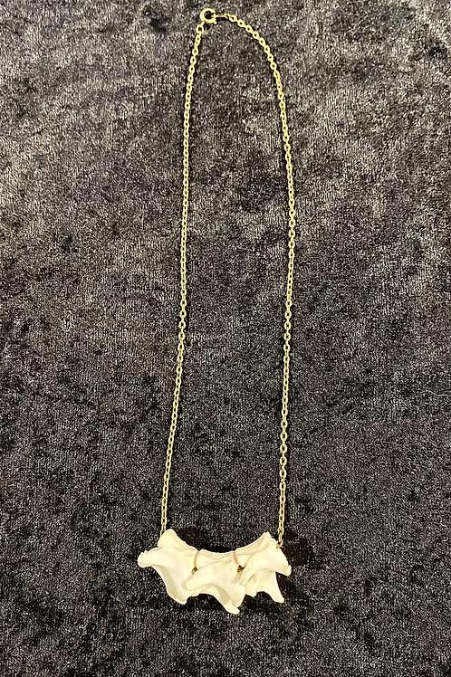 Cat spine necklace