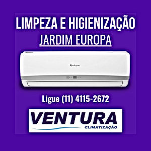higienização ar condicionado residencial jardim europa