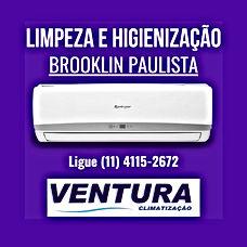 empresa limpeza higienização ar condicionado Brooklin