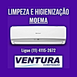 Higienização ar condicionado residencial moema