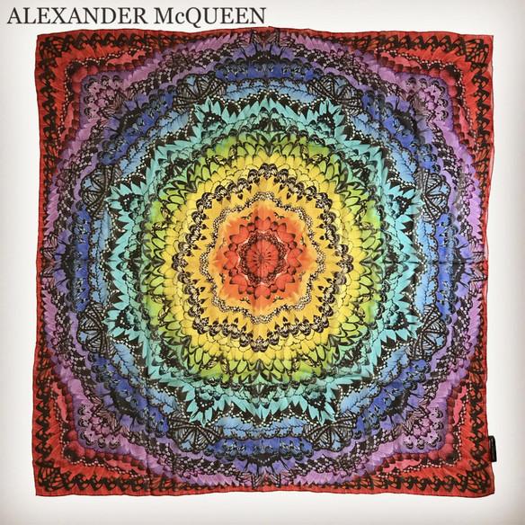 ALEXANDER McQUEEN(アレキサンダー ・マックイーン)レンタルスカーフ