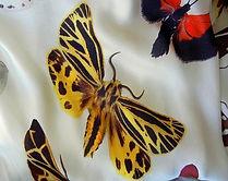 ALEXANDER McQUEEN 2007 Butterfly print