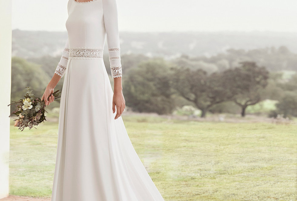 Adora | Captivating Lace Wedding Dress by Rosa Clara