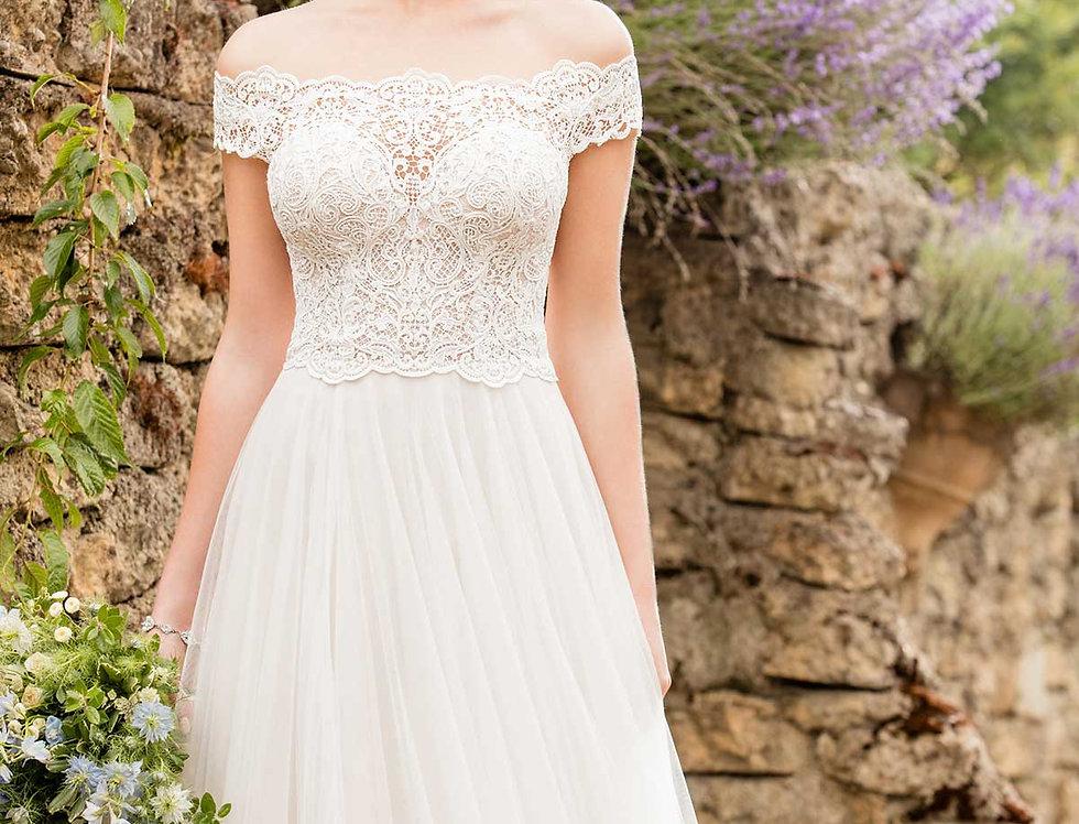 D2446 | Breezy Beach Wedding Dress by Essense of Australia