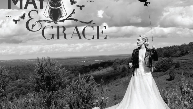 May & Grace Styled Shoot.  Romance, Rock 'n' Roll & The Punchbowl