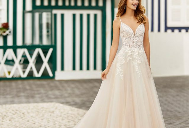 Helena | Enchanting Princess Wedding Dress by Rosa Clara
