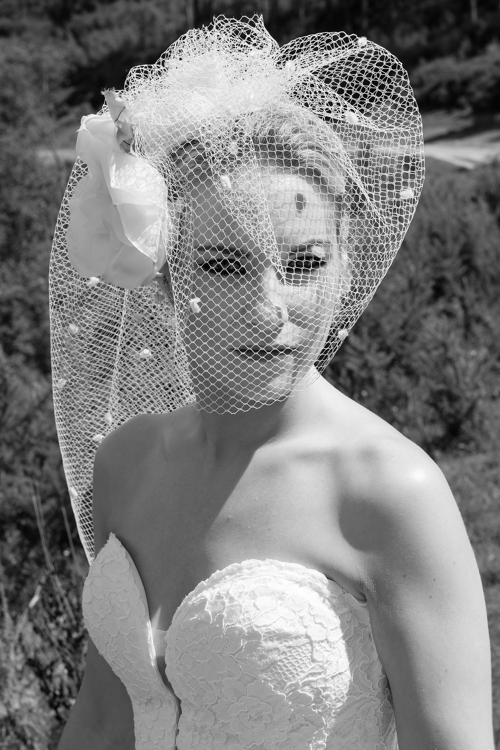 Birdcage Veil 'My Romance' by Irresistible Headdresses