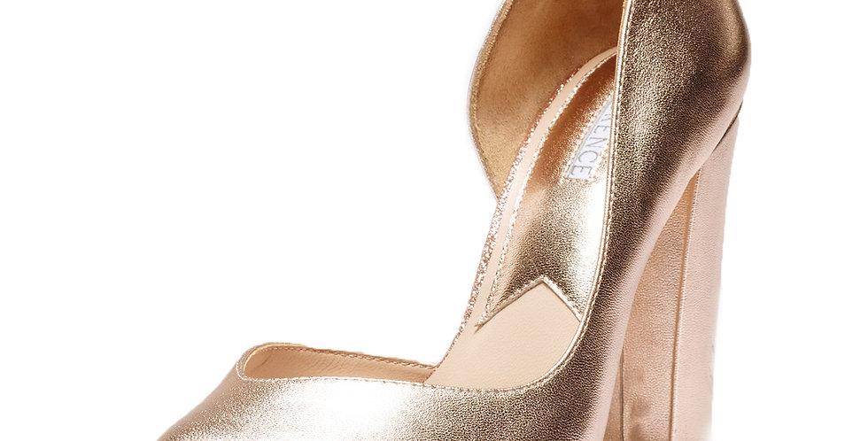Molly Rose Gold Block Heel