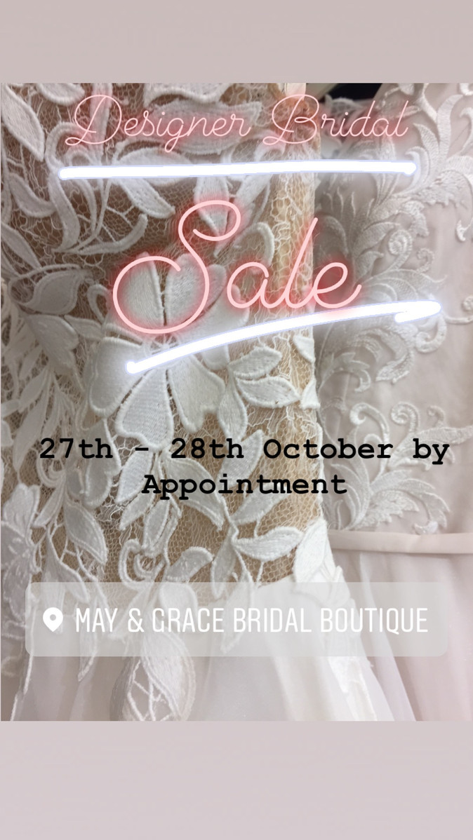 Designer Wedding Dress Sale
