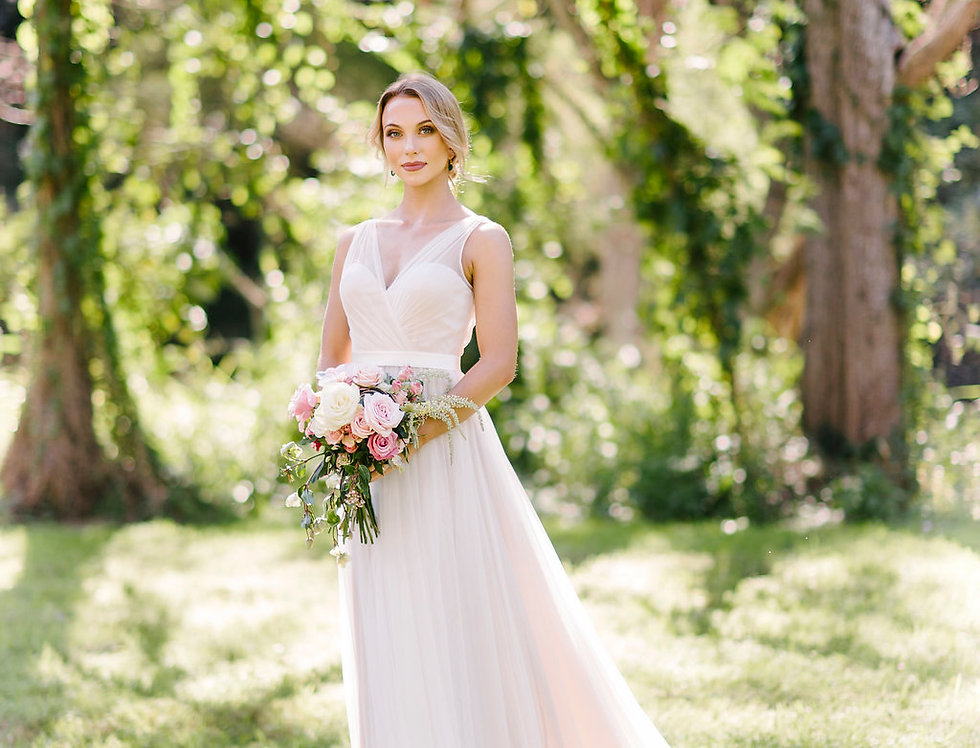 Valence | Tulle Ball Gown Dress by Wendy Makin