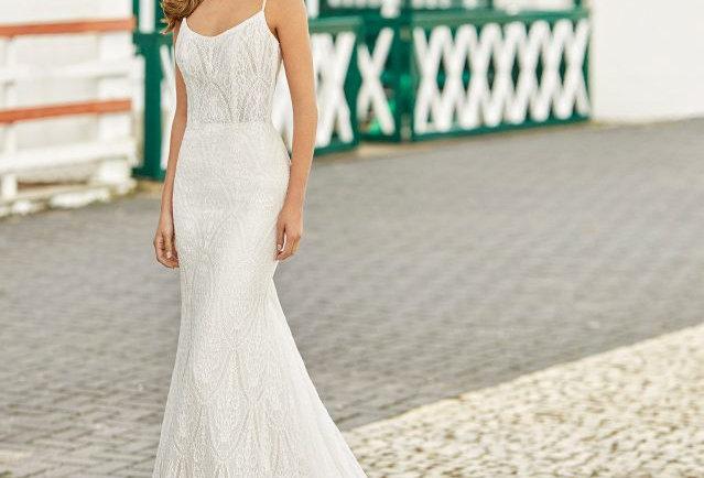 Heiko | Beaded Glamorous Wedding Dress by Rosa Clara