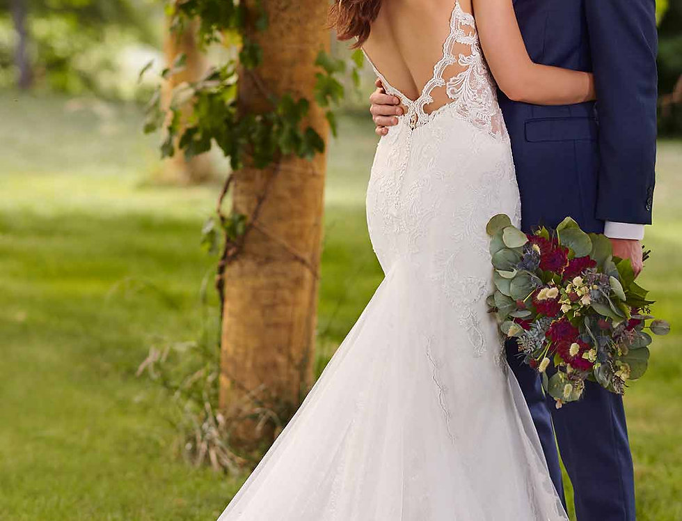 D2760 | Lace Wedding Dress by Essense of Australia