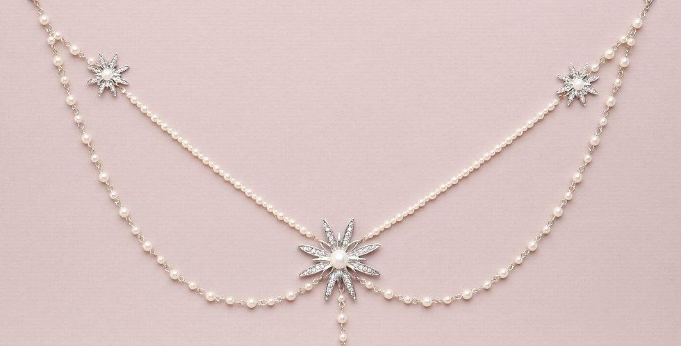 Ophelia | Back Necklace by Miranda Templeton