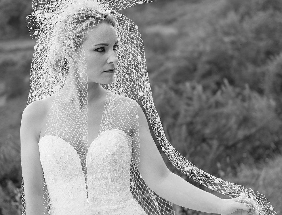 Grace | Big Bow Veil by Irresistible Headdresses