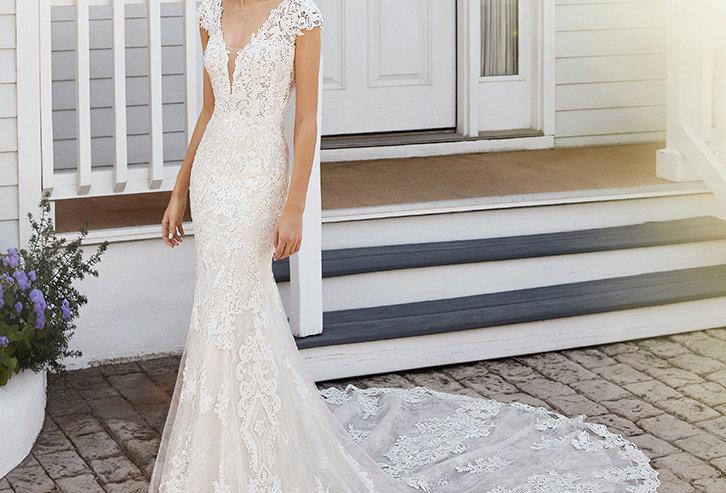 Celia | Lace Wedding Dress by Rosa Clara