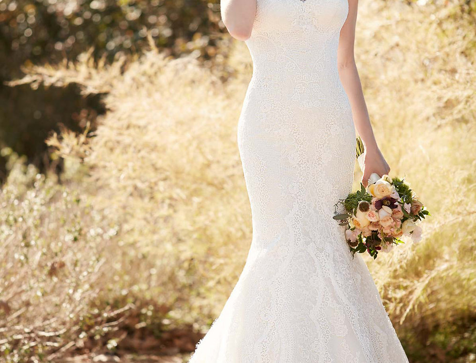 D2224 | Fit and Flare Wedding Dress by Essense of Australia