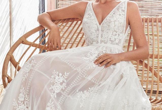 Camilia | Bohemian Floral Wedding Dress by Rosa Clara