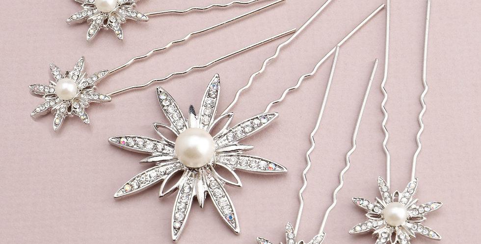 Portia | Bridal Pins by Miranda Templeton