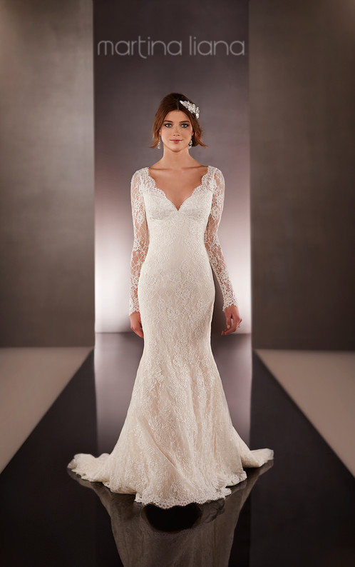 651 lace sleeve wedding dress by martina liana wedding dresses 651 lace sleeve wedding dress by martina liana wedding dresses may grace bridal boutique haslemere surrey junglespirit Choice Image