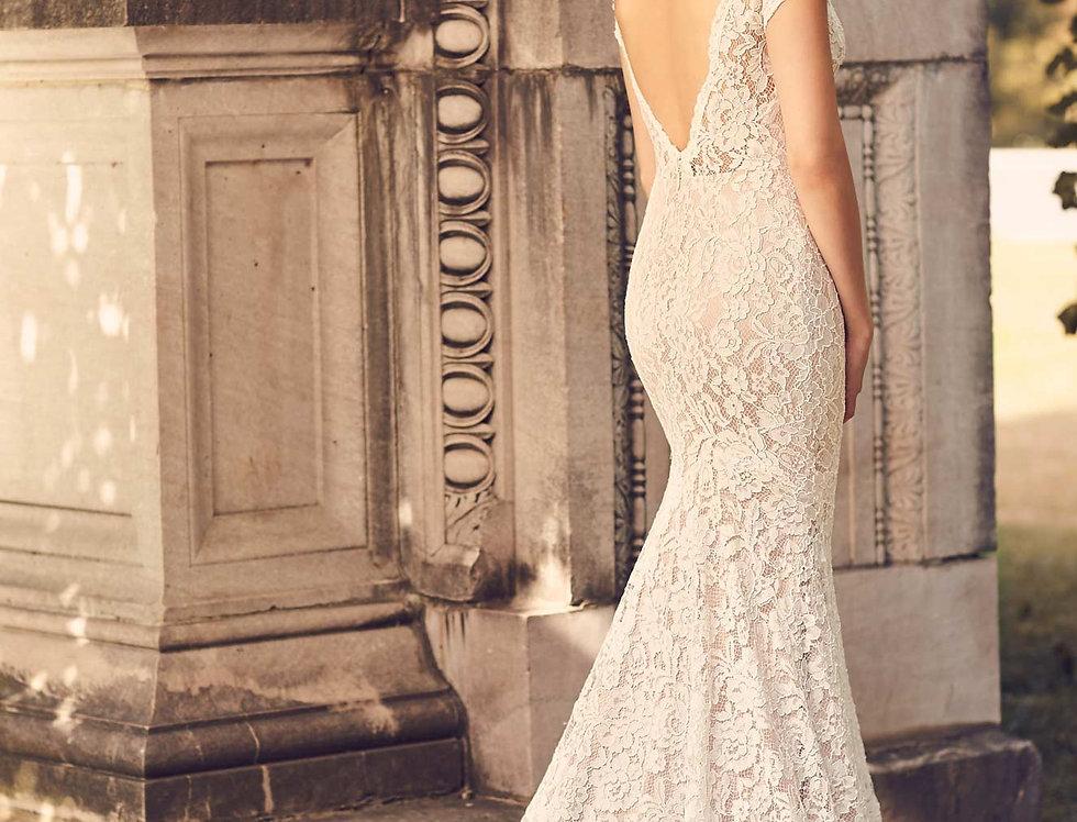 2233 | Lace Wedding Dress by Mikaella