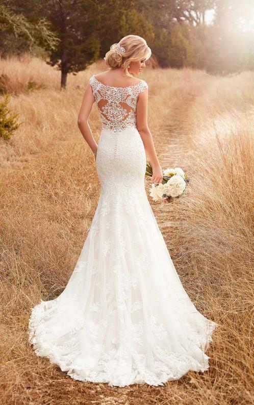 D2322 column backless wedding dress by essense of australia junglespirit Images