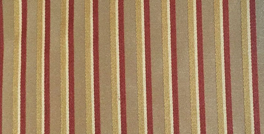 Thin Red-Gold Silk Stripe