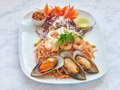 38. Seafood Pad Thai