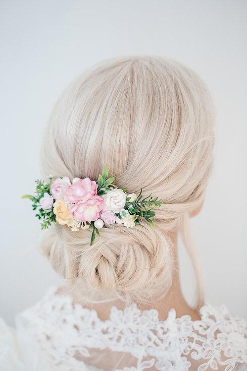 Blumenkranz Braut Hochzeit Haarkranz Blumen Haarschmuck Brautjungfern Oktoberfest Kranz Kopfschmuck HaarbandSommerfest
