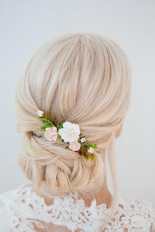 Blumenkranz Braut Hochzeit Haarkranz Blumen Haarschmuck Brautjungfern Oktoberfest Kranz Kopfschmuck HaarbandEukalyptus