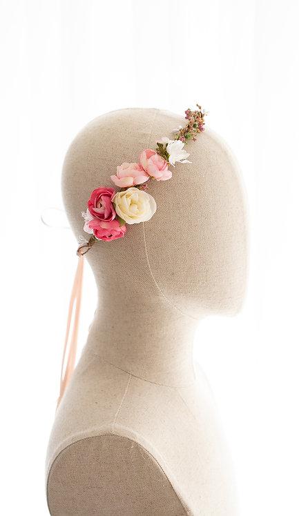 Braut Blumenkranz Haarkranz Haarband Haarschmuck Dirndl Hochzeit Oktoberfest Kranz Kopfschmuck Babybauch Fotoshootings