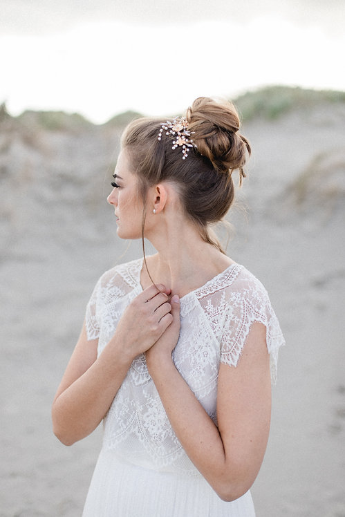Haarschmuck zur Hochzeit online kaufen Braut Headpiece Haarranke Haarkamm Haardraht Haarblüte Haarblumen Kopfschmcuk Spange
