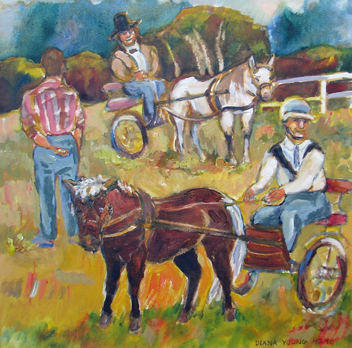Pony Rides by Diana Young