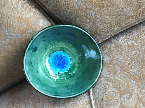 Sea Glass Medium Bowl by Barbara Moskol