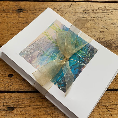 Sea Series Greeting Cards, by Jennifer Maffett