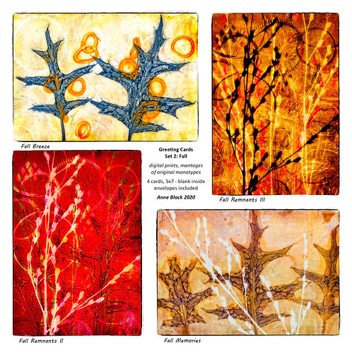 Greeting Card Set 2: Fall, by Anne Black