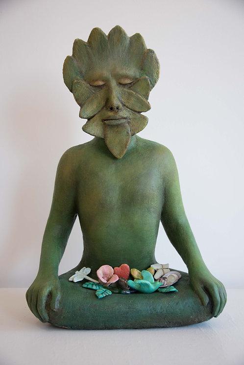Green Man Meditation, by Elizabeth Ostrander