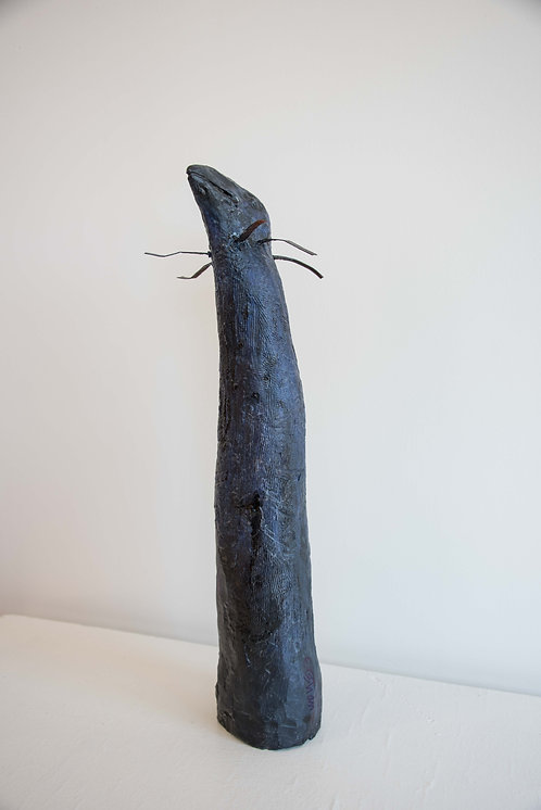 Spirit Crow Totem, by Elizabeth Ostrander