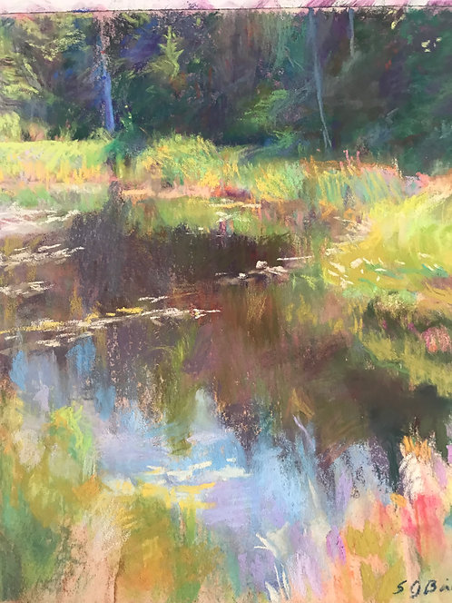Reflections in the Marsh, by Sue Griggs-Bailey