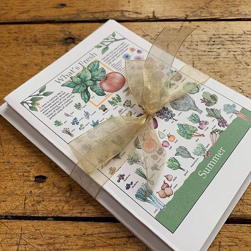 What's Fresh Card Series, by Jennifer Maffett