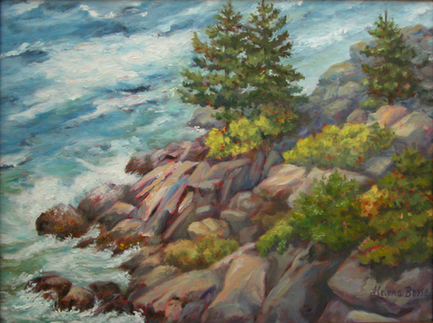 Monhegan Cliffs