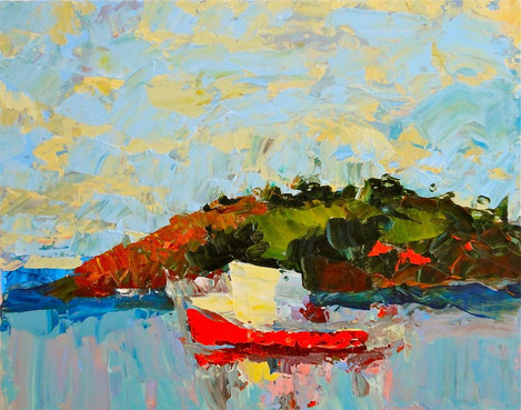 Boat and Island