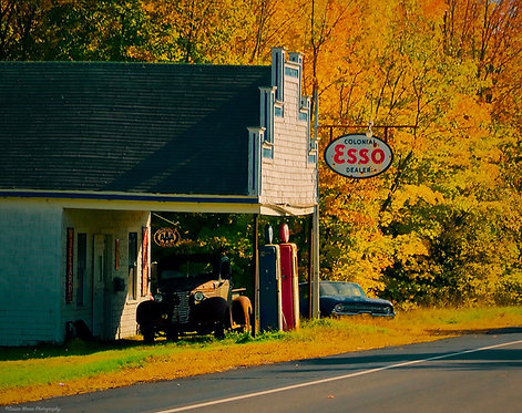 Susan Moore: The Old Esso Station