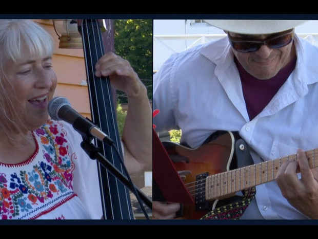 Music on the Deck: The Basslady & Robert Sanchez