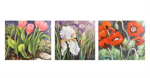 Triptych, by Helena Bosse