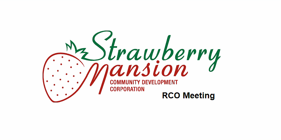 SMCDC RCO Meeting - May 27, 2021 6:00 PM to 7:30 PM